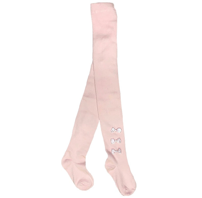 Pex Pink Triple Bow Tights
