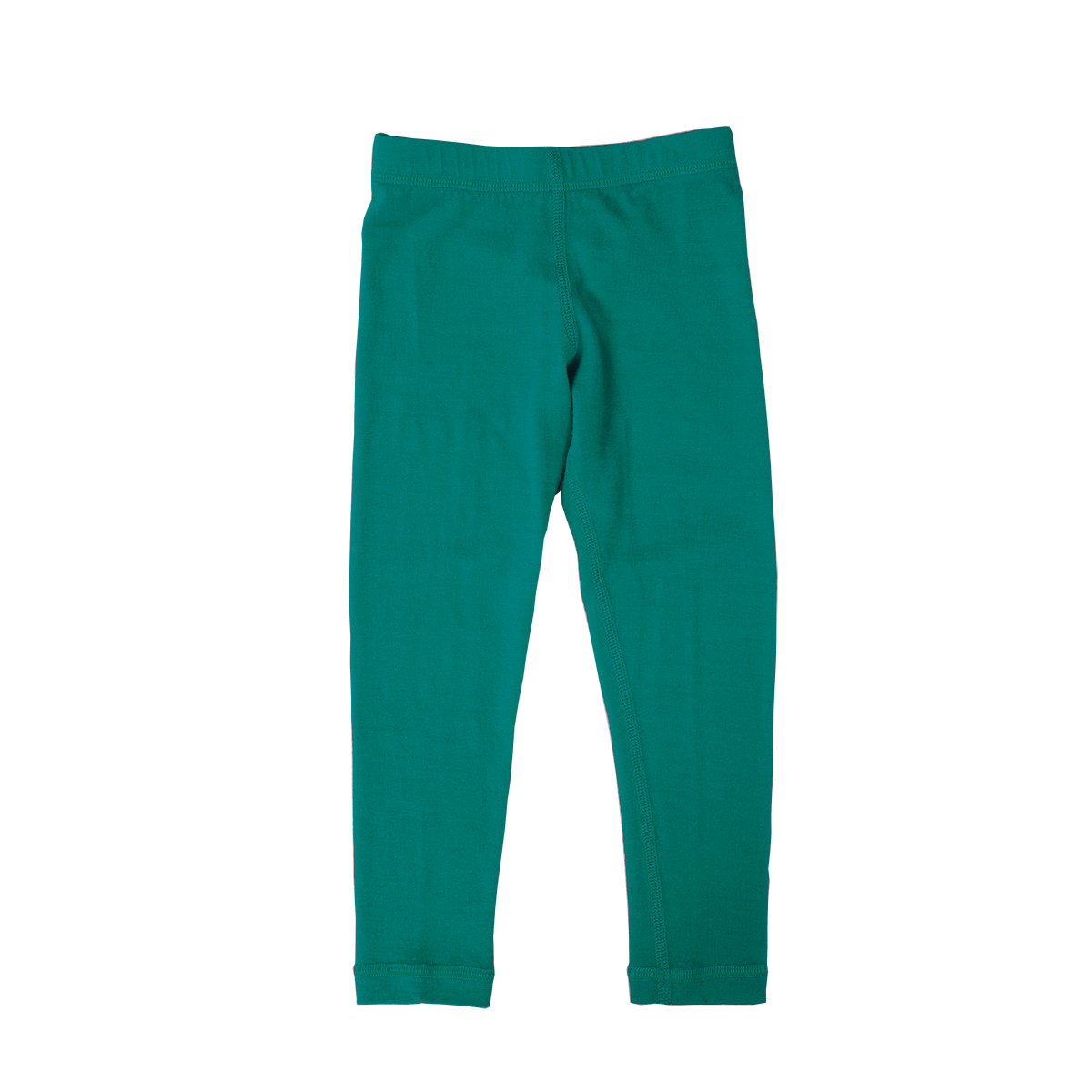 Iksplor Kids' Merino Wool Thermal Base Layer Bottoms/Pants - Green