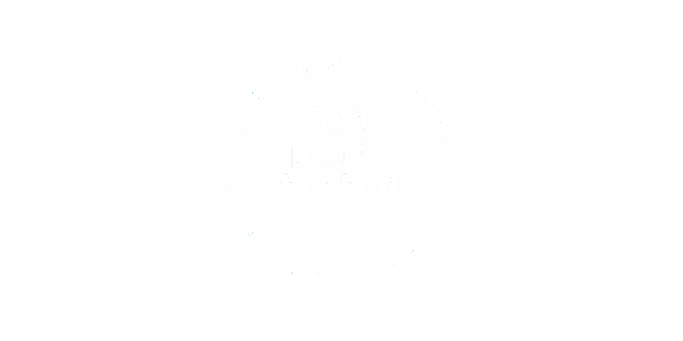 3rd Party Tested Logo
