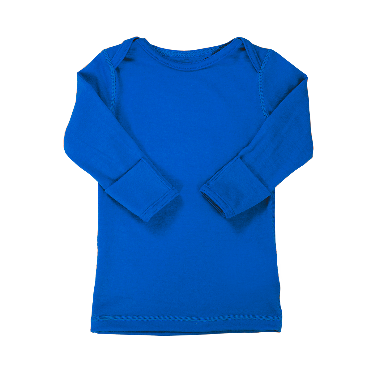Iksplor Kids' Merino Wool Thermal Base Layer Top - Royal Blue