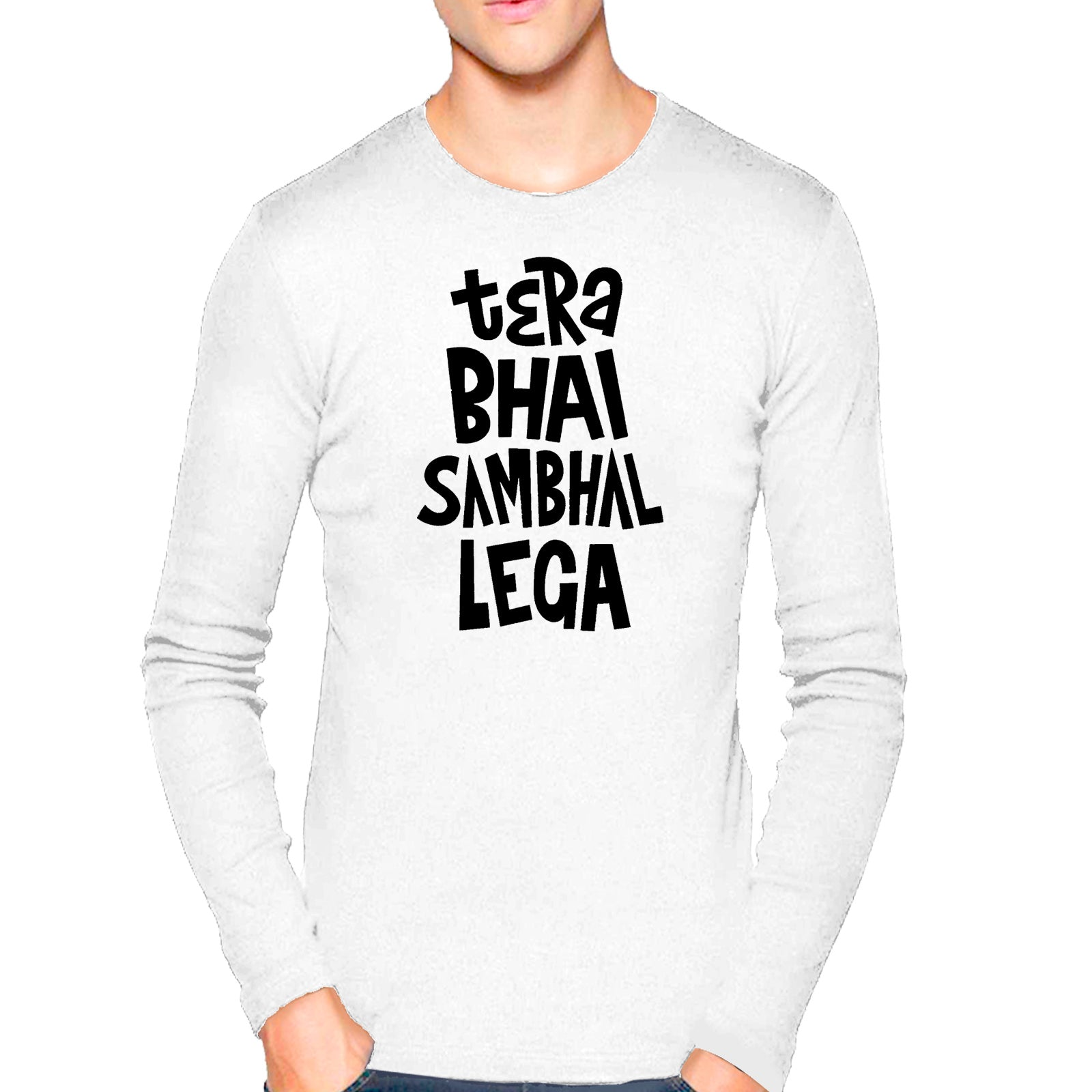 87dc95a1b T Shirts for Men Hindi Quotes Design Printed Cotton T Shirt – Youth ...
