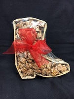 Basket Boot with Sugar Pecans