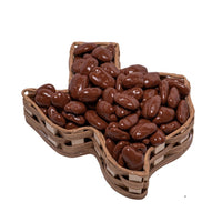 Basket Small Texas with Chocolate Pecans