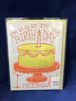 Card Birthday Cake