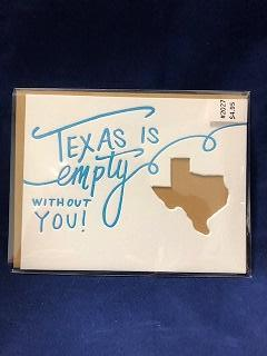 Card Texas is Empty