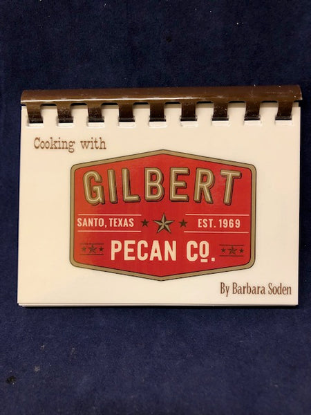 "Cook Books - ""Cooking with Gilbert Pecan"""