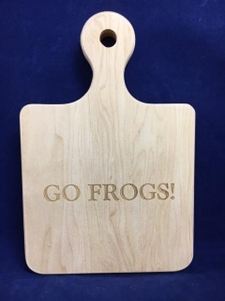 Cutting Board Go Frogs