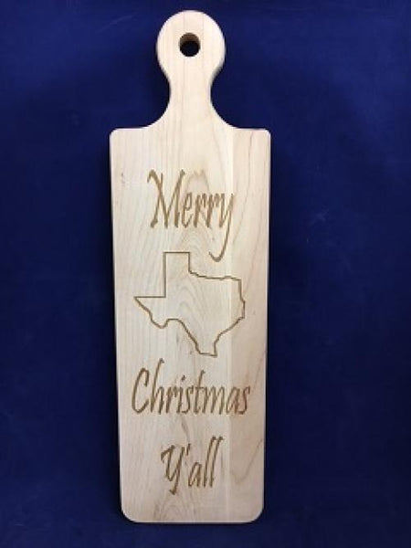 Cutting Board Merry Christmas