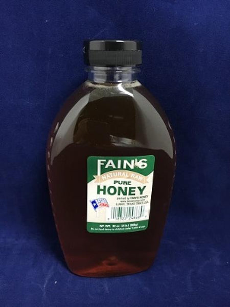 2# Fains Natural Raw Honey