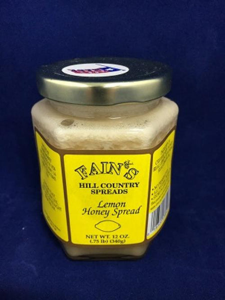 12 oz Fain's Lemon Honey Spread