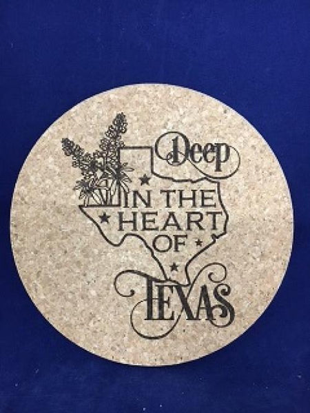 Trivet Deep in the Heart