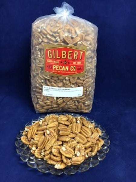 5 lbs. Pecan Halves Jr. Mammoth Pecan Halves NEW CROP 2019-2020