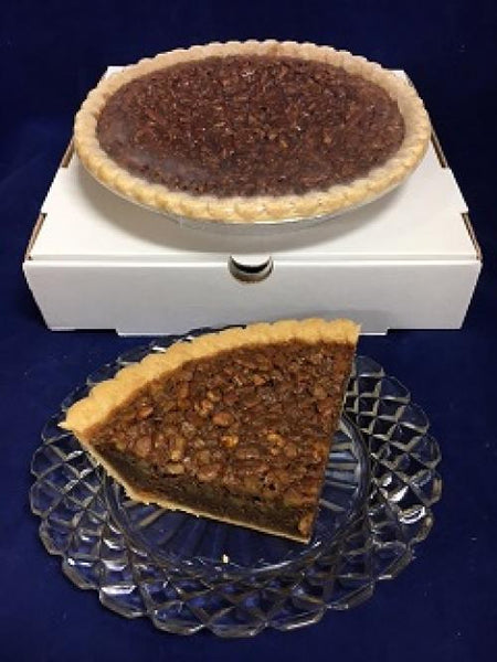 "9"" Chocolate Pecan Pie"