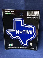 Sticker, Native Texas