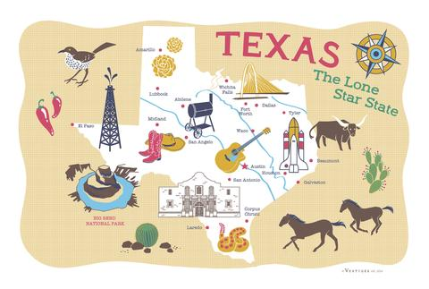 Towels Texas Lone Star
