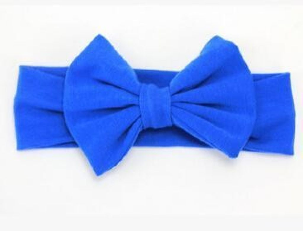 Infant Bowknot Cotton Elastic Headband 9