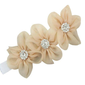Baby Or Toddler Flower Elastic Headband F