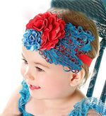 Hair Band Feather Flower Head For Baby Girl Or Infant 7 Headband