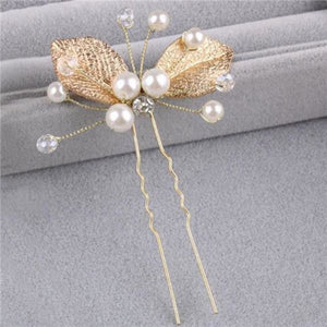 Pearl Design Hair Pin 02