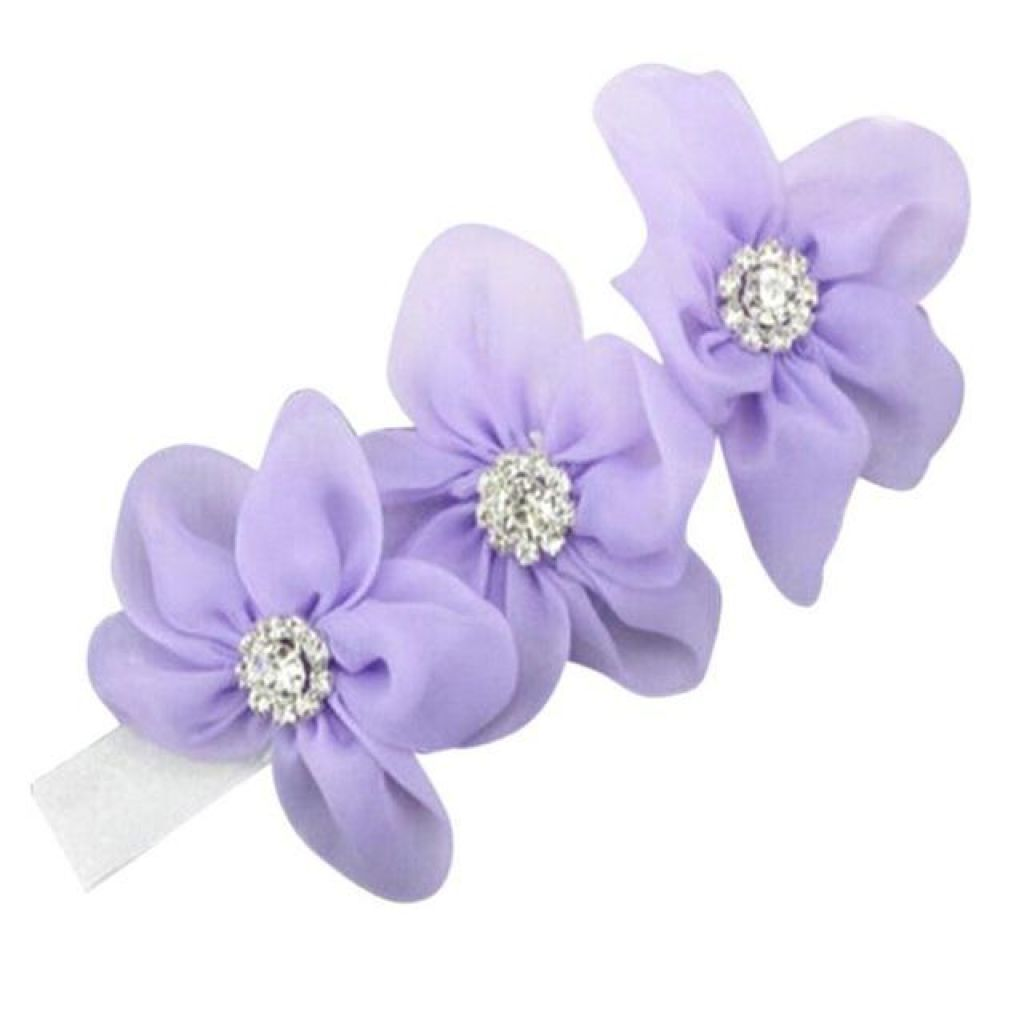 Baby Or Toddler Flower Elastic Headband L