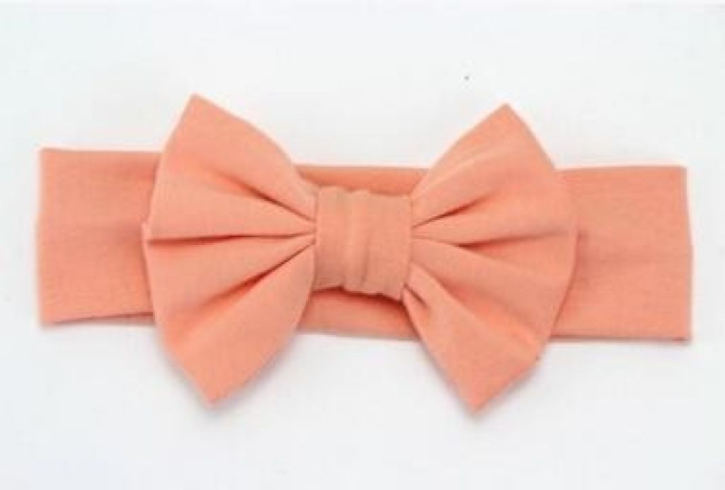 Infant Bowknot Cotton Elastic Headband 2