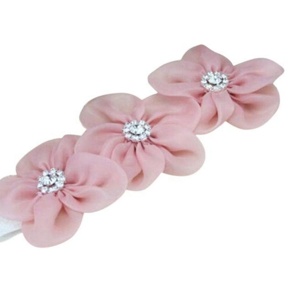 Baby Or Toddler Flower Elastic Headband C