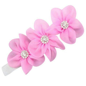 Baby Or Toddler Flower Elastic Headband D