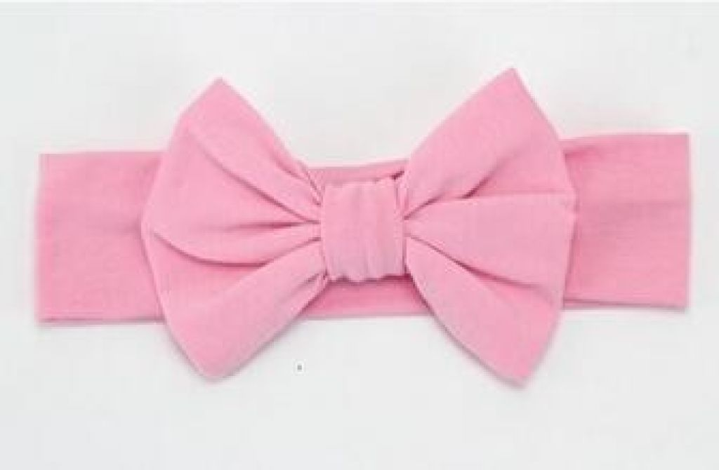 Infant Bowknot Cotton Elastic Headband 6