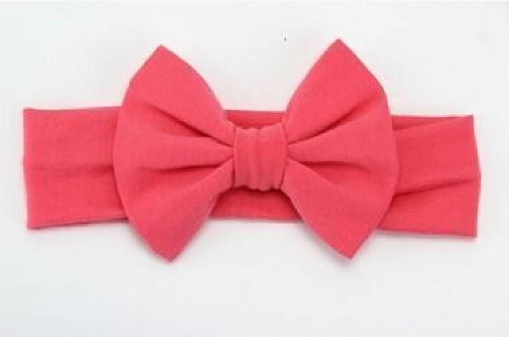 Infant Bowknot Cotton Elastic Headband 3