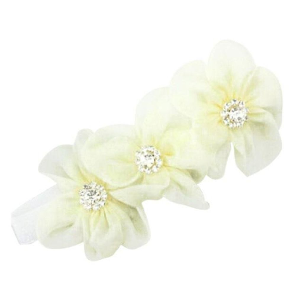 Baby Or Toddler Flower Elastic Headband A