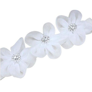 Baby Or Toddler Flower Elastic Headband B