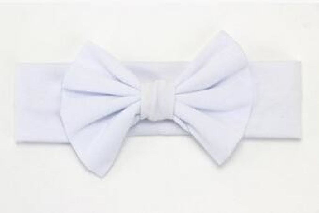 Infant Bowknot Cotton Elastic Headband 15
