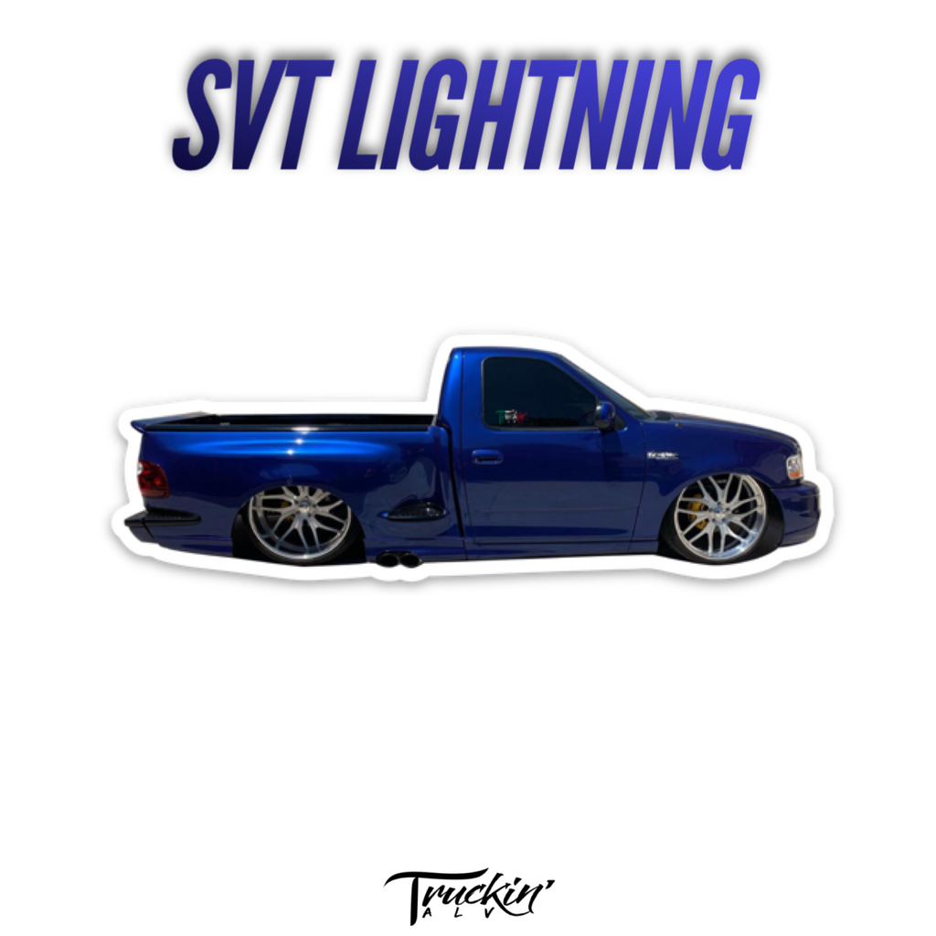 SVT Lightning Sticker