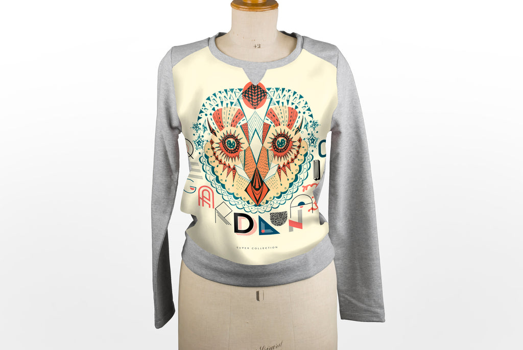 Sweat-shirt Hibou