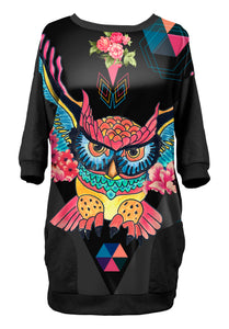 Robe-sweat Chouette Mexicaine