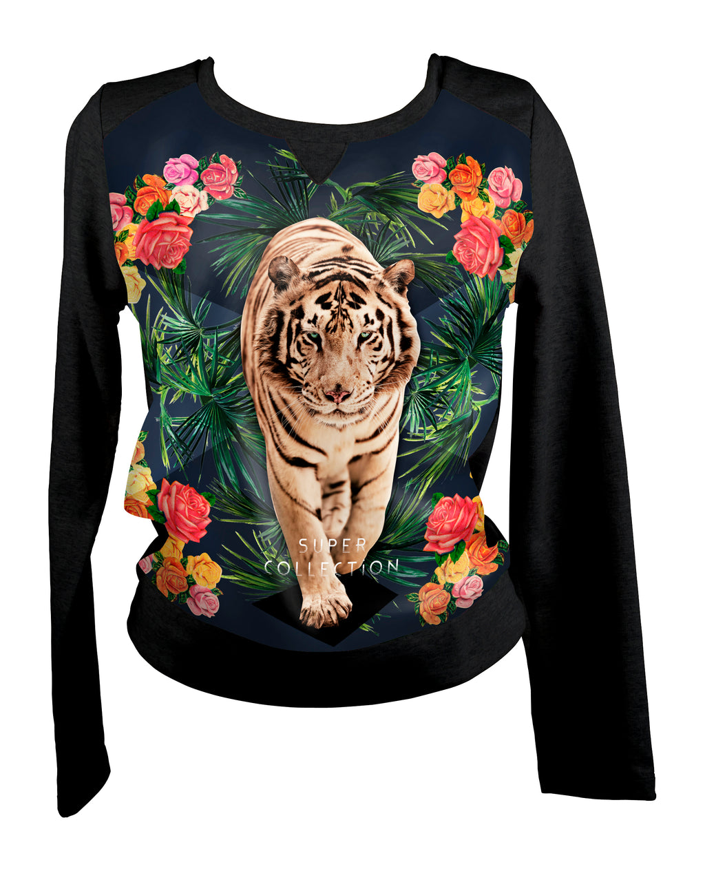 Sweat-shirt Tigre