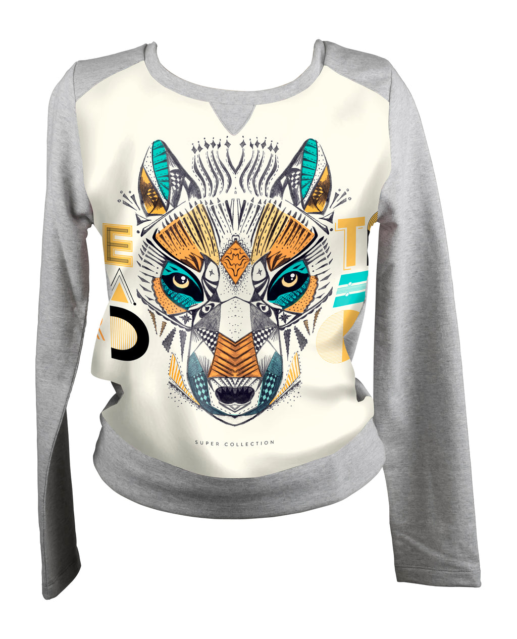 Sweat-shirt Wolf