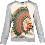 Sweat-Shirt Lion Plumes