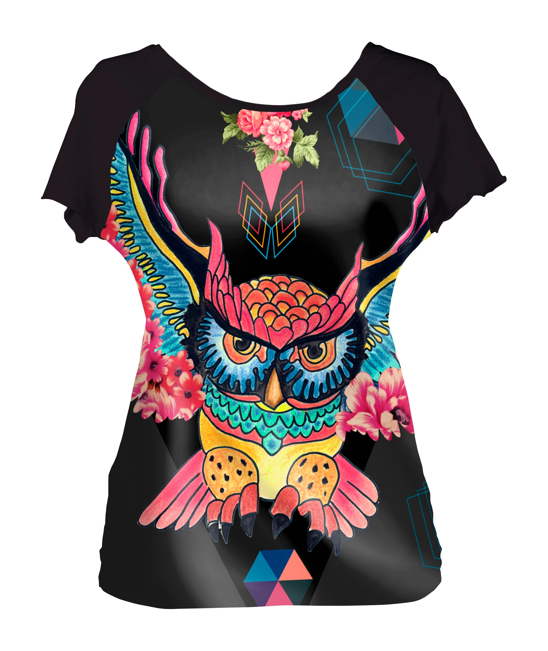 Tee-shirt Chouette Mexicaine