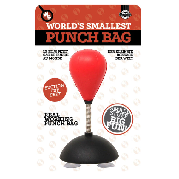 World Smallest Punch Bag - Zigzagme