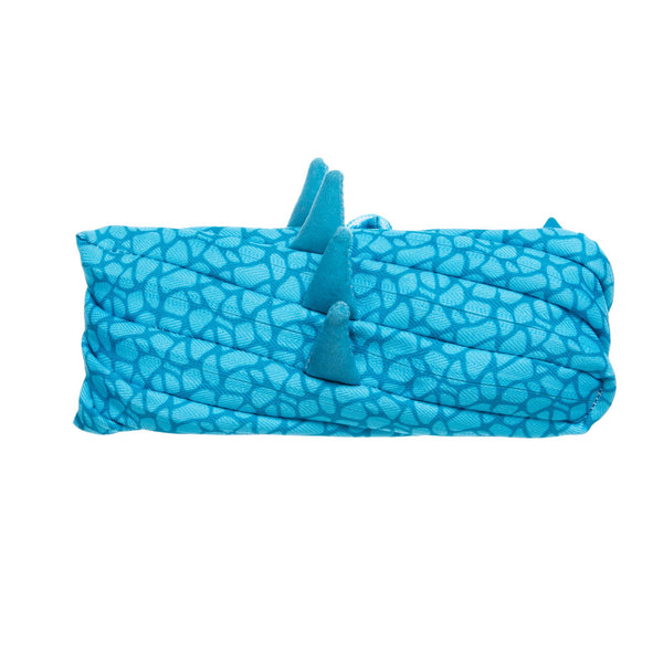 Dino Pouch Blue - Zigzagme