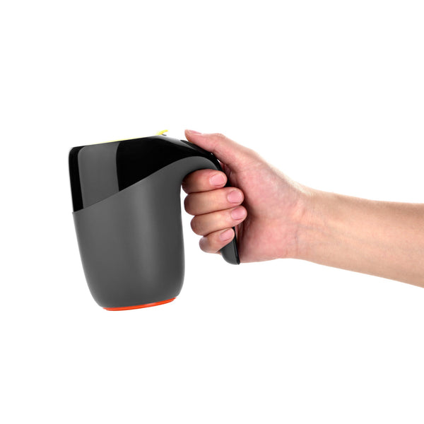 Artiart Suction Mug Elephant Black - Zigzagme