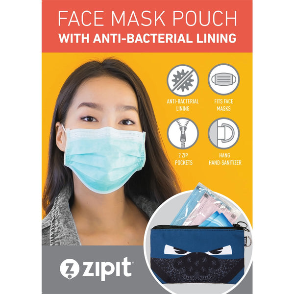 Face-It Masks Pouch Cats!