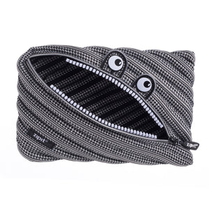 Monster Jumbo Pouch Black & White