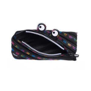 Monster Pouch Black & Rainbow