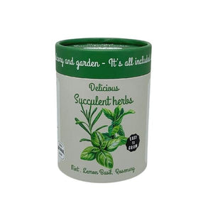 Canister Collection - Kitchen Herbs (Basil, Mint, Rosemary)
