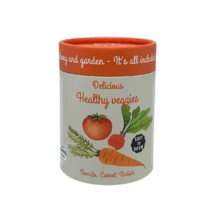 Canister Collection - Veggies (Raddish, Tomato, Carrot)