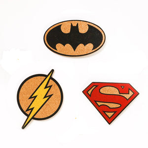 DC Comics Cork Coasters
