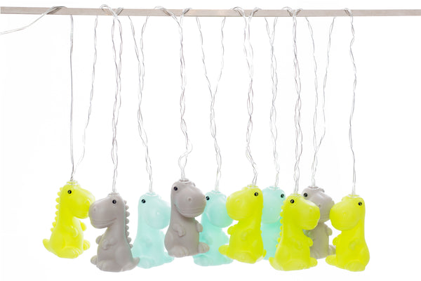 Dino String Lights - Zigzagme