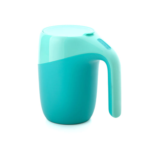 Artiart Suction Mug Elephant Green - Zigzagme